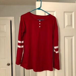 🏈Long Sleeved Football Shirt Size M🏈